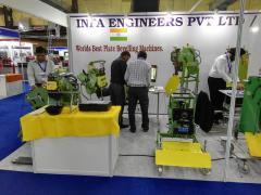 Notre chanfreineuses - Salon INDIA ESSEN WELDING & CUTTING 2016