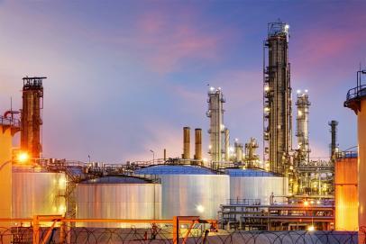 Dépôts et piscines pétrolières